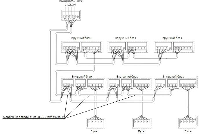 general climate схема подключения