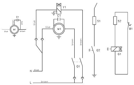 Электрические схемы тепловых пушек Kroll P 10-80.
