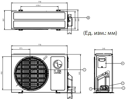 кондиционер Lg A09lh1 инструкция - фото 9