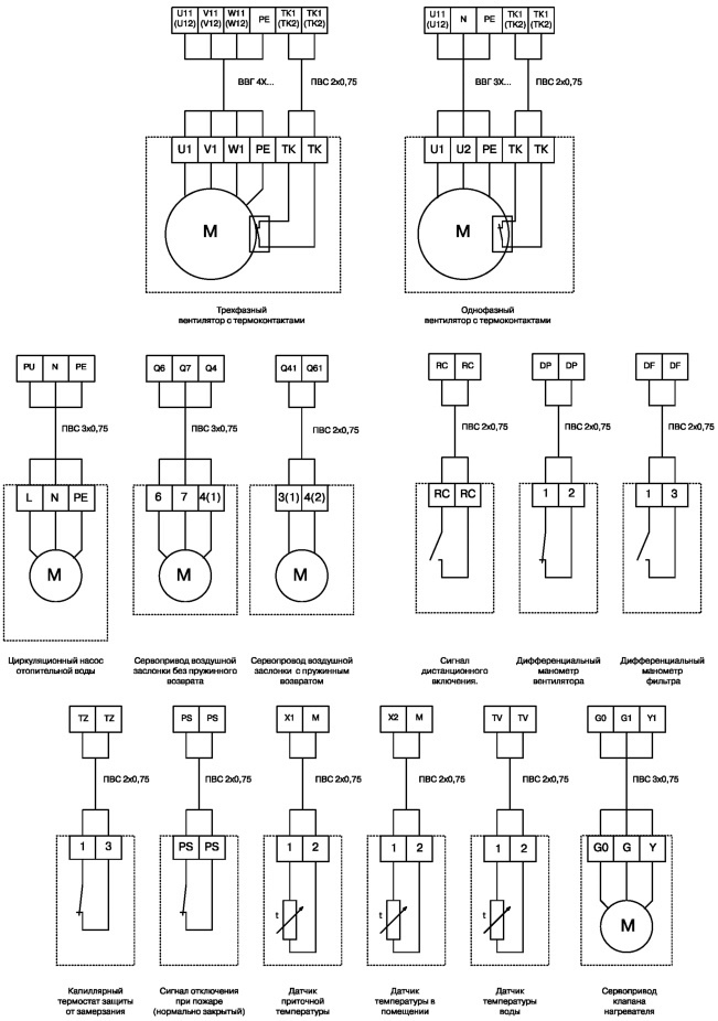 Схема Ресанта 250 Gp